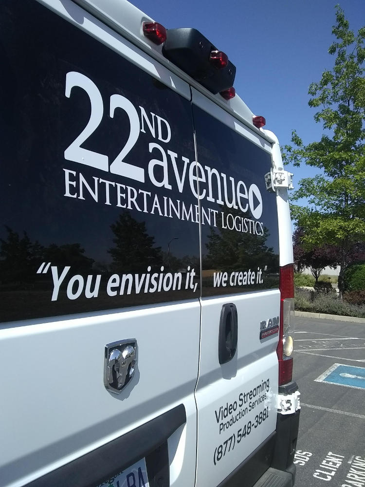 The Experts in Entertainment 22nd Avenue Entertainment Logistics - Live Video Streaming and Production